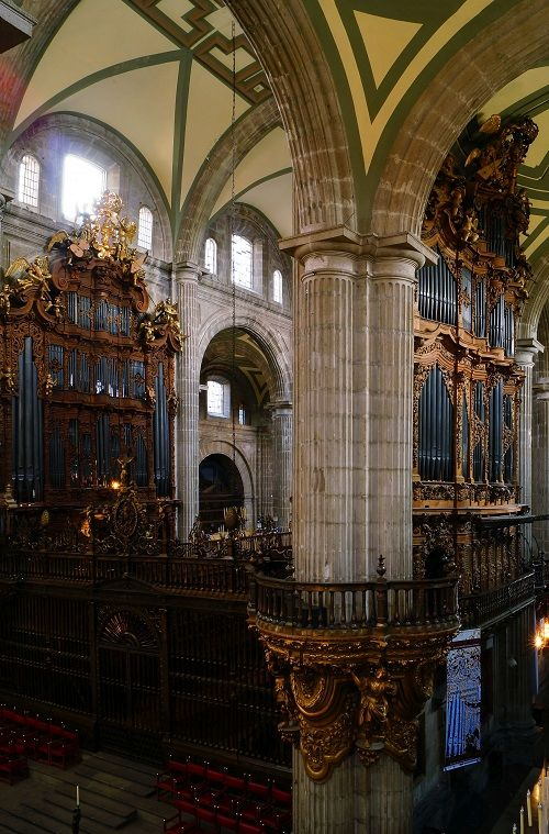 Organconcerts in the Cathedral of Mexico