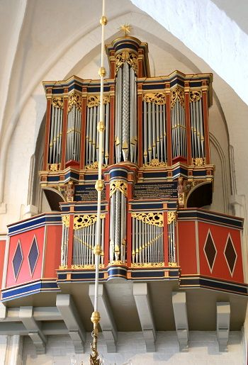 "Organ concerts in ""The Swallow's""Nest organ, Naestved (Denmark)"